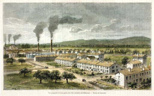Cités_Ouvrières_de_Mulhouse_vers_1855