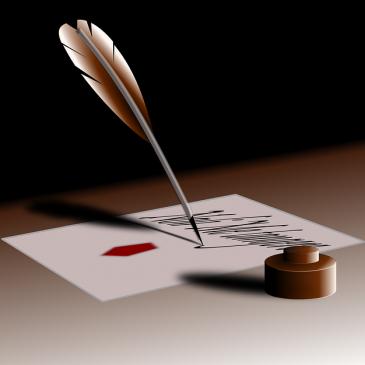Scénario post-rétrospectif: l'exemple du futur de l'écriture