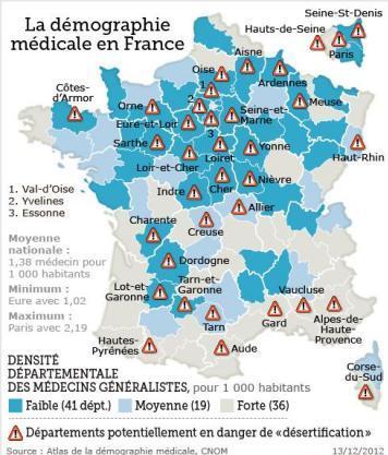 CarteDésertMédicaux
