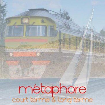 approche du futur: de la métaphore du train à celle du voilier